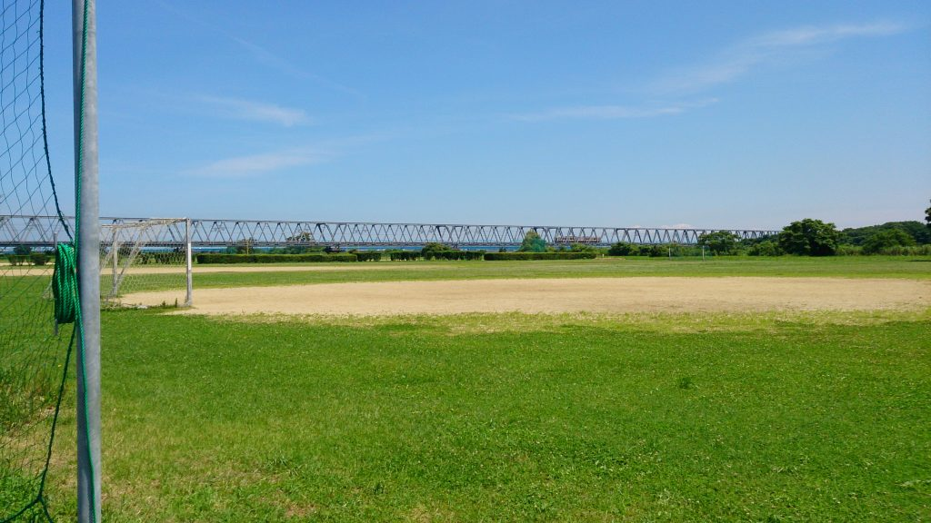 阿賀野川沿い