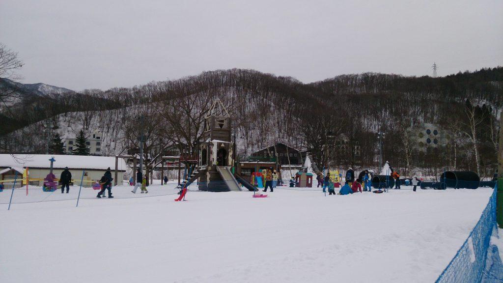 苗場スキー場子供