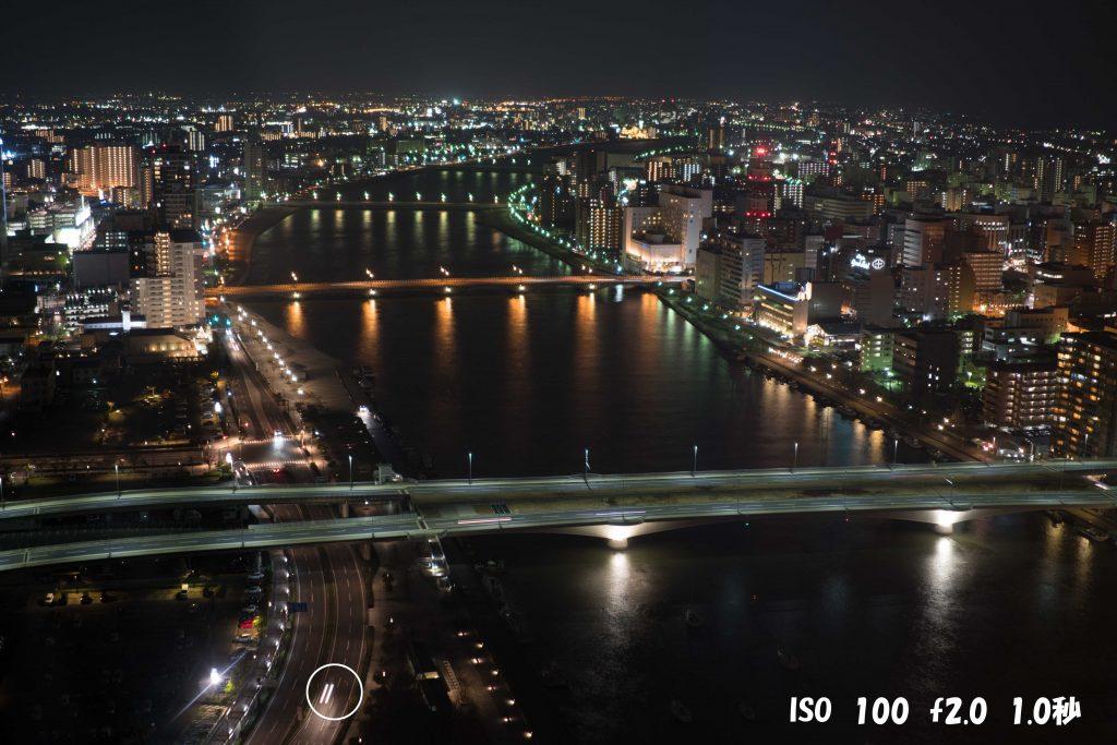 新潟の夜景