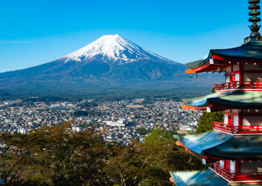 インスタ映え富士山